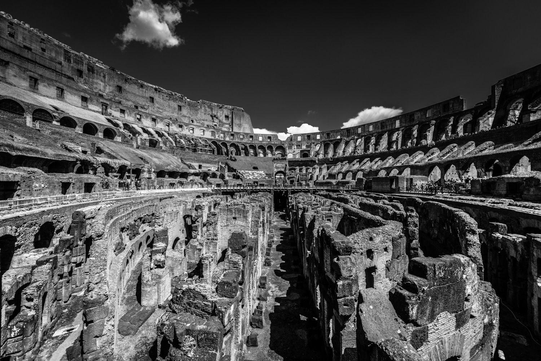 Interieur van het Colosseum