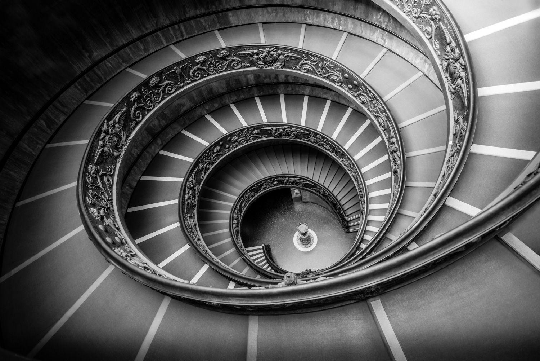 Trappen van het Vaticaanse Museum