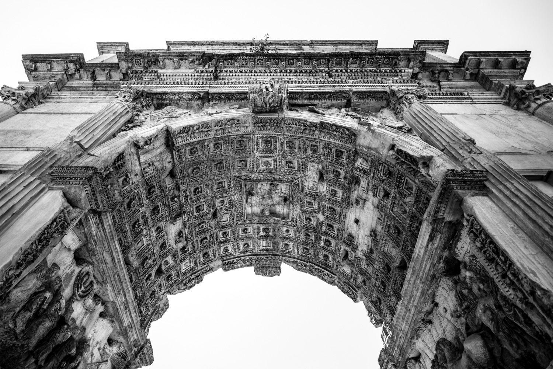 Boog van Septimius Severus in Rome