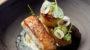 Food fotografie bij restaurant Motus van een zalm hapje