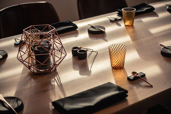 geklede tafel
