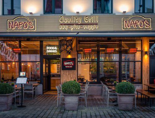 Restaurant fotografie Napo's Antwerpen