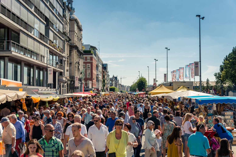 Rubensmarkt 2016 in Antwerpen
