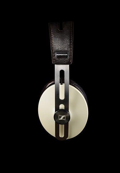 Commerciele productfoto van een Sennheiser hoofdtelefoon