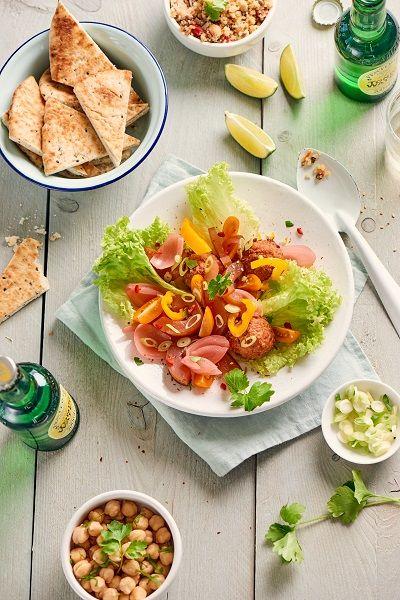 Fotoshoot voor Tafra Foods