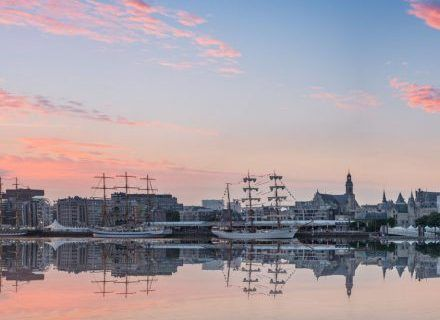 Thumbnail van Skyline van Antwerpen